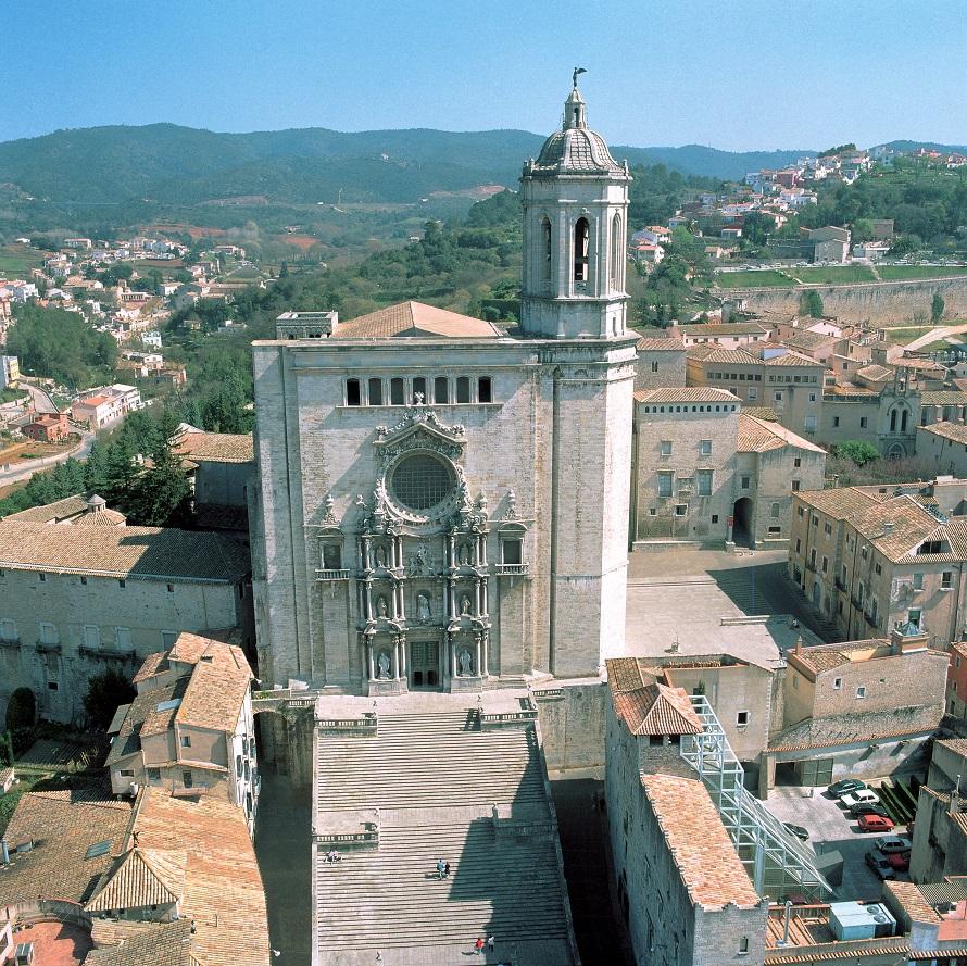 Girona. Catedral de Girona © Ajuntament de Girona. J.M. Oliveras