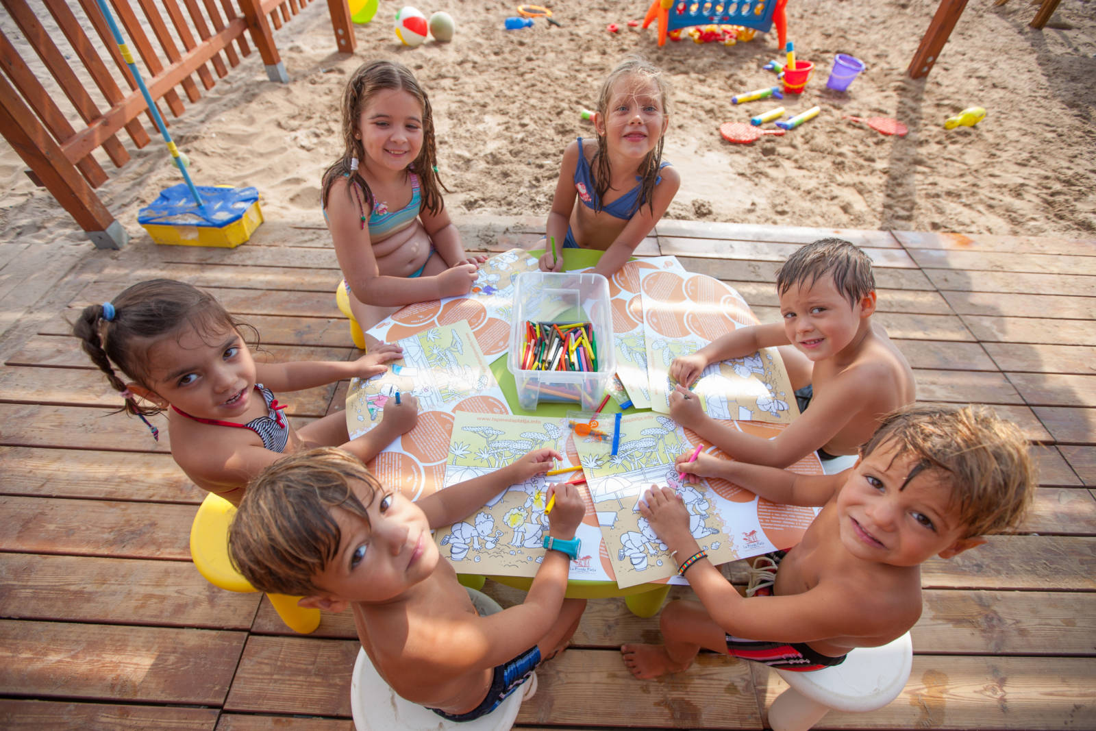 Costa Daurada - La Pineda. Beach Children's Club 3 © La Pineda Platja