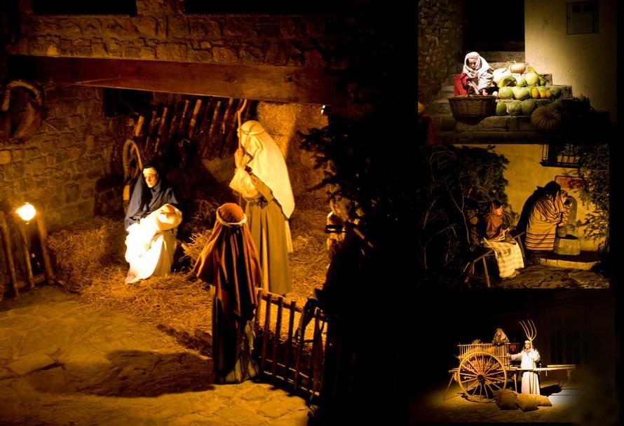 Pessebre Vivent La Pobla de Lillet © jqmj (Queralt). Lizenz. www.creativecommons.orglicensesby-sa2.0deed.de