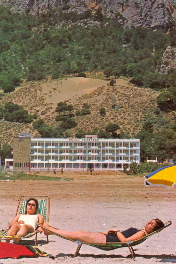 Eines der ersten großen Hotels in L'Estartit © Miquel Graells