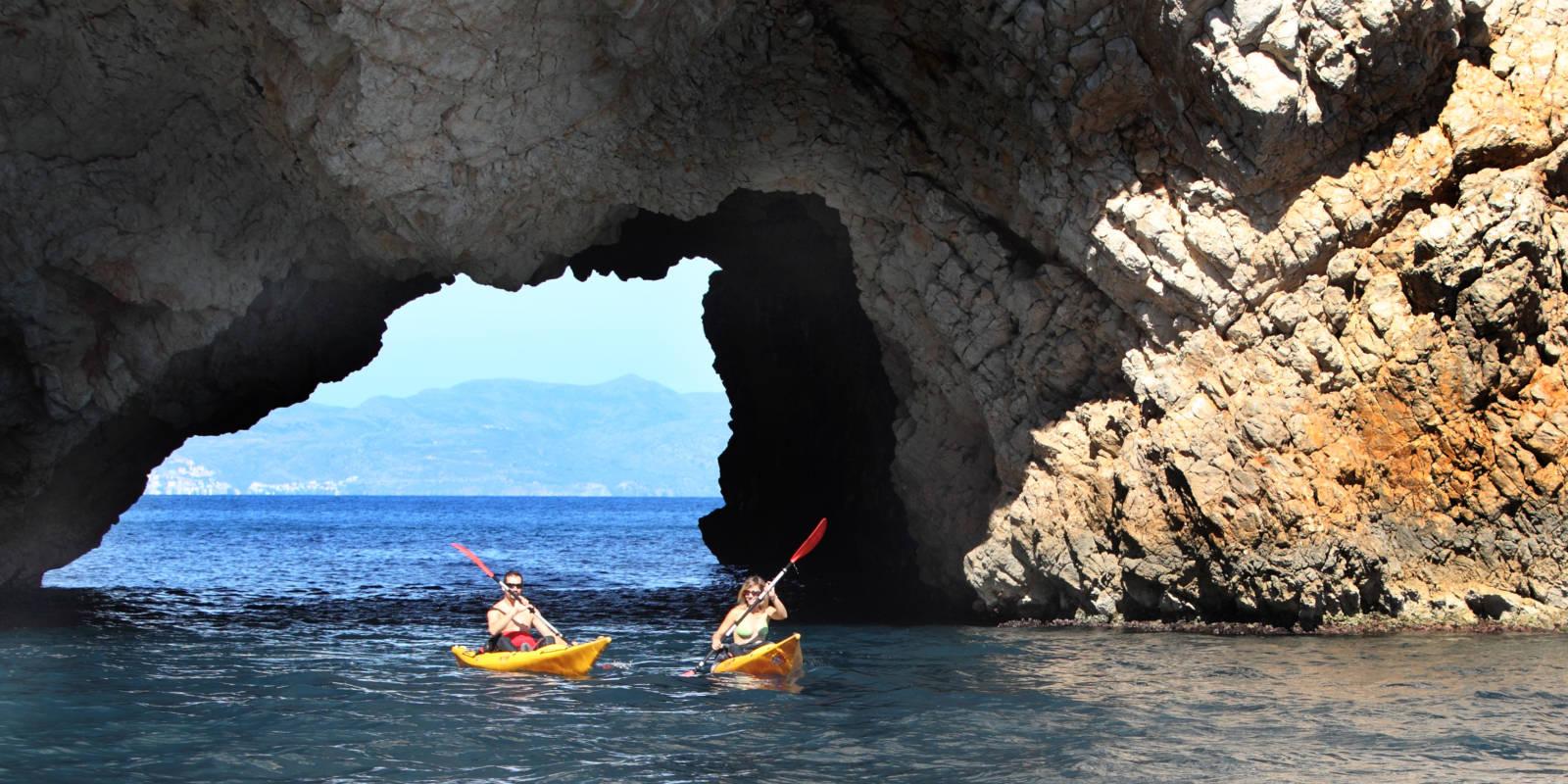 Kayak-Tour bei L'Estartit © Oficina de Turisme de l'Estartit