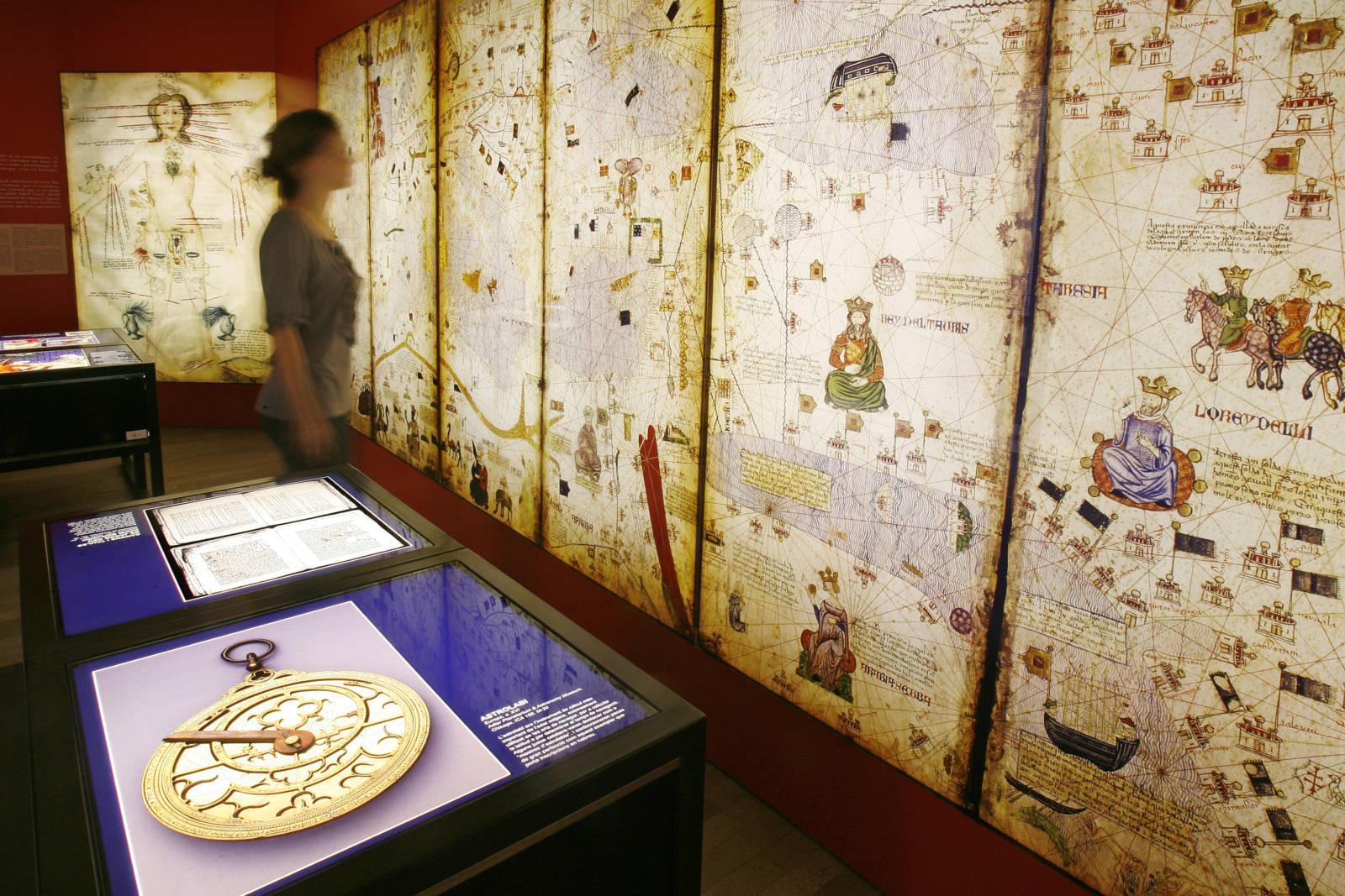 Die permanente Ausstellung im Jüdischen Museum in Girona © Aniol Resclosa. Patronat Call de Girona