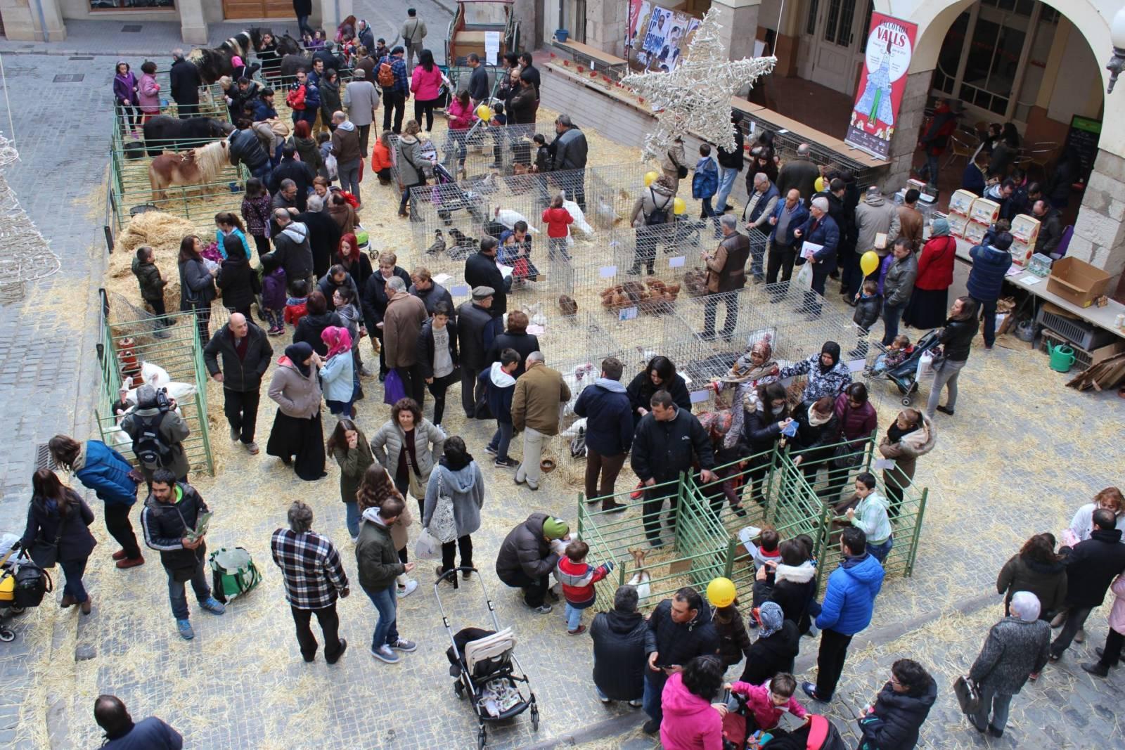 Authentische Tradition: Der Weihnachts- und Vogelmarkt in Valls © Cambra Comerç de Valls